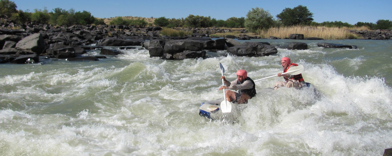 river rafting orange river