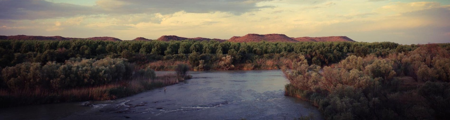 fly fishing lodge on orange river karoo